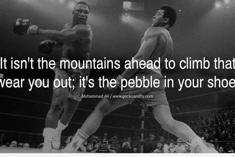 Boxer Muhammad Ali quotes on wallpapers images