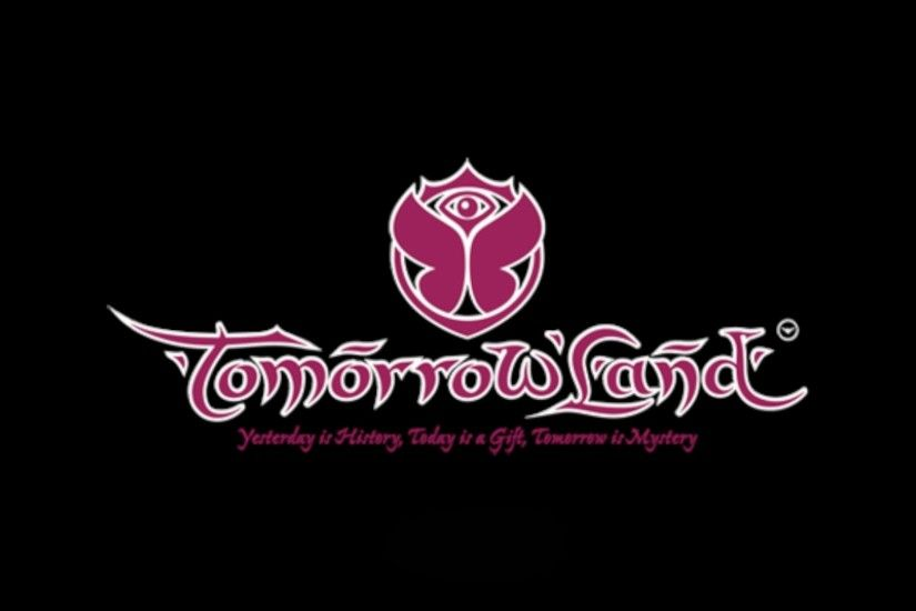 Tomorrowland Logo Tagline Desktop Wallpaper