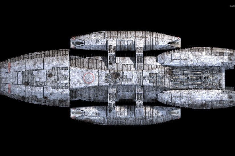 Battlestar Galactica spaceship [2] wallpaper