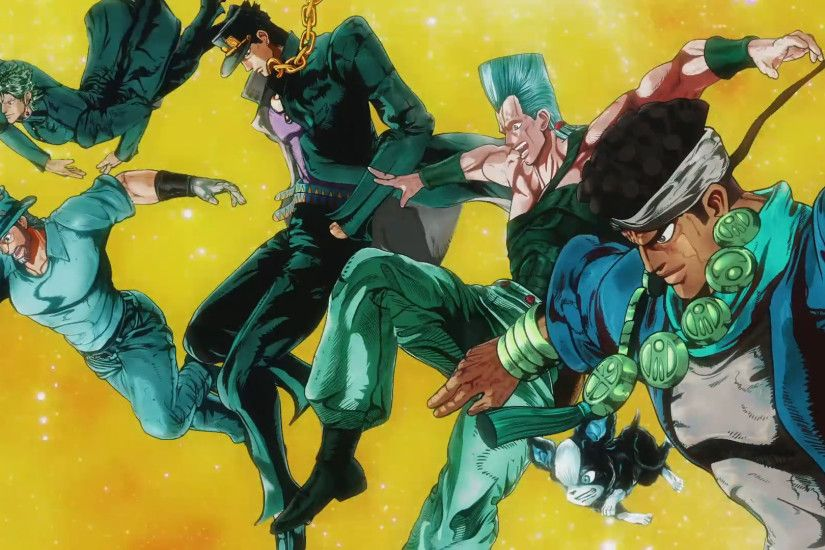 Anime - Jojo's Bizarre Adventure Wallpaper