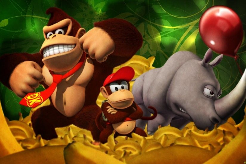 HD Wallpaper | Background Image ID:335879. 1920x1200 Video Game Donkey Kong  Country Returns. robokoboto