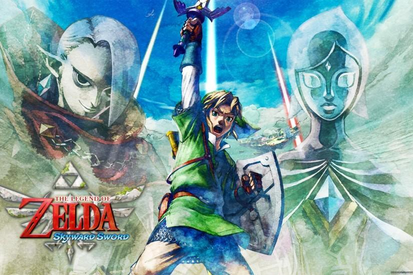 the legend of zelda skyward sword wallpaper 1920x1200
