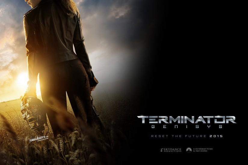 Terminator Genisys (2015) – Head in Hand Wallpaper – 003