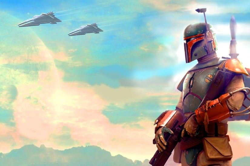 Boba fett - wallpaper.