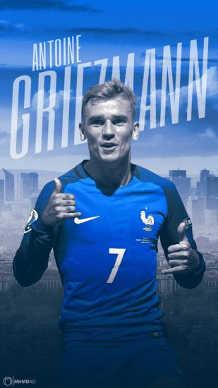 Antoine Griezmann Wallpaper Design by MhmdAo Antoine Griezmann Wallpaper  Design by MhmdAo