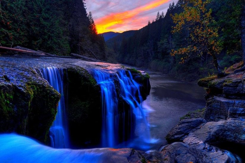 Beautiful waterfall hd wallpaper nature wallpapers | Chainimage