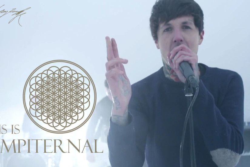 Bring me the horizon oli sykes wallpaper by toameiko.