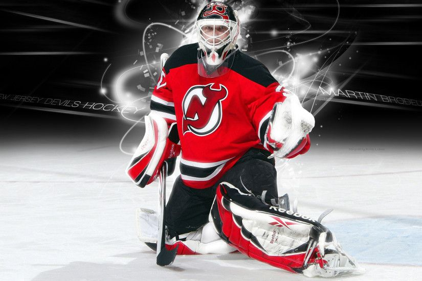 Ice hockey · New Jersey Devils NHL HD Wallpaper