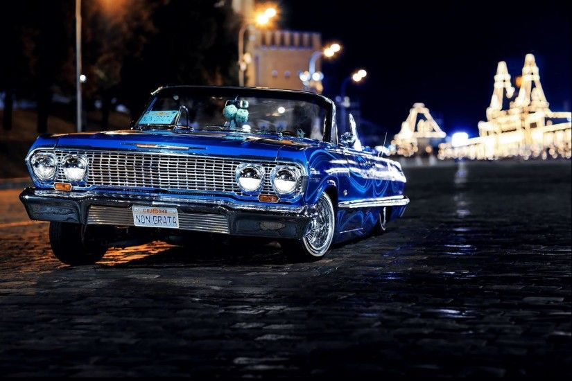 1 1963 Chevrolet Impala Hd Wallpapers Background Images Lowrider Wallpaper