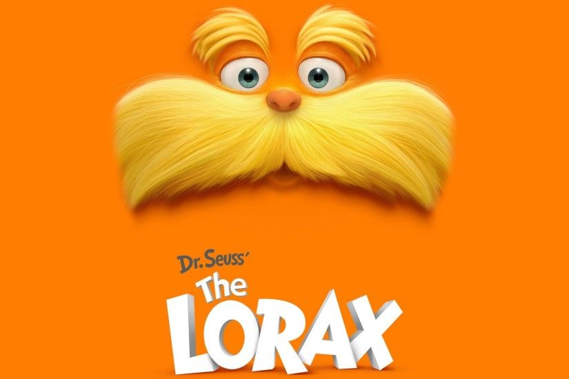 Full HD Wallpaper the lorax mustache face background