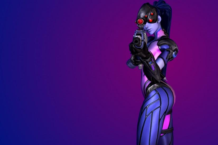 Widowmaker, Overwatch, 4K