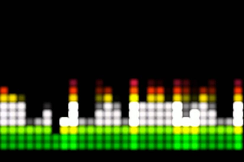 Bar Volume Meter 1 Free Footage Stock Background Video Effect AA VFX
