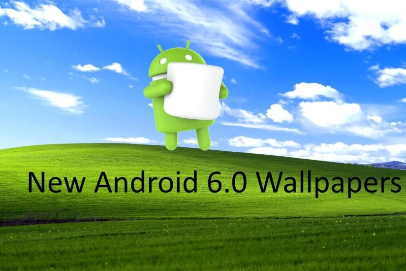 Quick Look At The New Android 6.0 Marshmallow Wallpapers