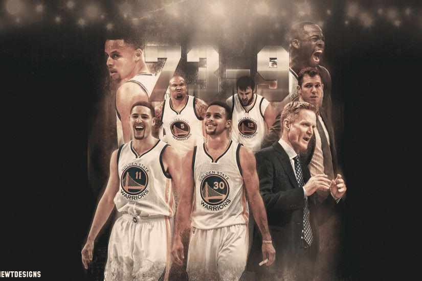 Golden State Warriors 73-9 Record Wallpaper
