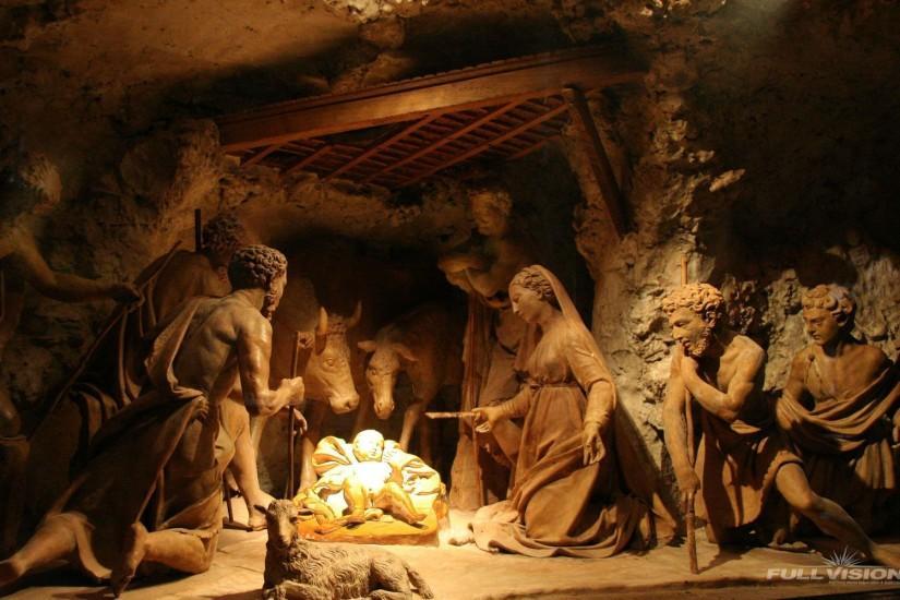 Christmas Nativity Scene Wallpaper 183 ① Download Free Hd