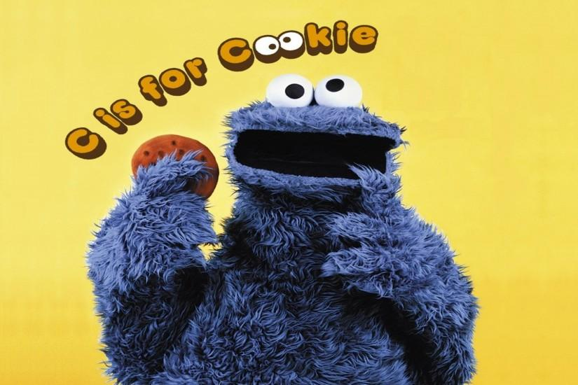 Cookie Monster Four wallpapers and stock photos