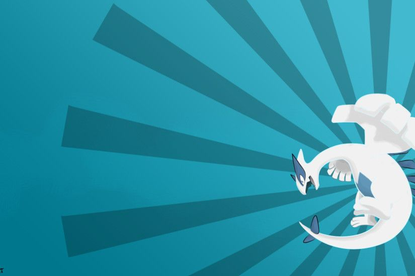 Lugia Wallpaper by HeartlyArt Lugia Wallpaper by HeartlyArt