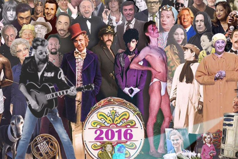Sgt. Pepper-style collage powerfully shows all the stars we've lost in 2016  - TODAY.com