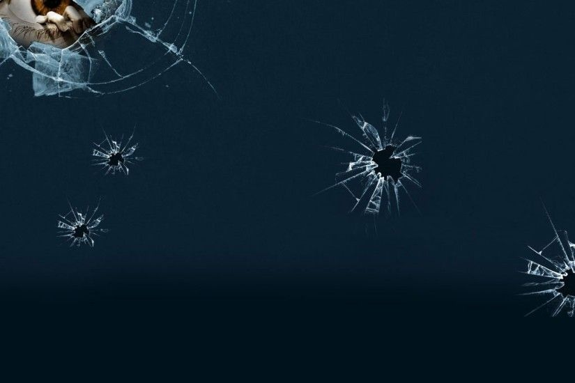 2048x2048 Fun/Humor - Broken Glass 3D Eye - iPad iPhone HD Wallpaper Free ·  Download · 3d broken glass wallpapers ...