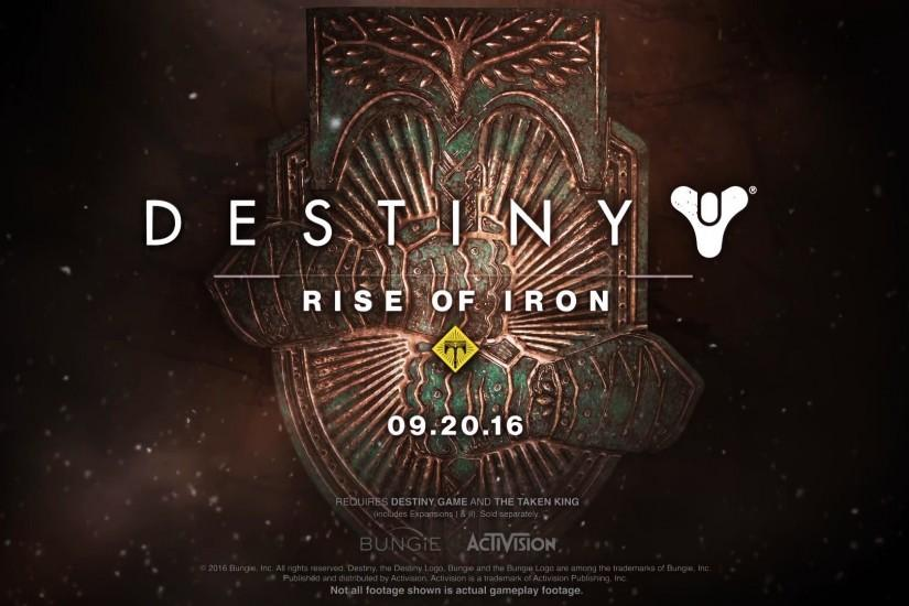 Destiny Rise of Iron Logo Wallpaper 00675