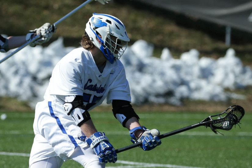 13 Men's Lacrosse Opens CSAC Play with a Visit from Rosemont