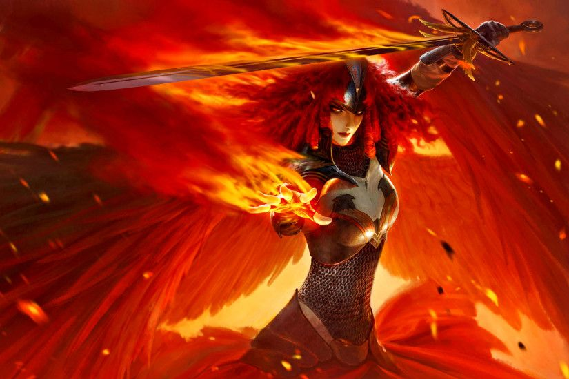 HD Wallpaper | Background ID:471111. 2560x1600 Fantasy Angel Warrior