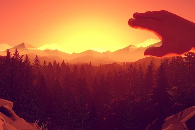 amazing firewatch wallpaper 1920x1080 notebook