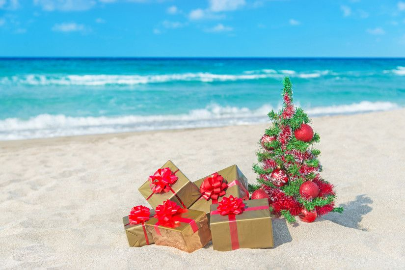 Christmas Beach Wallpapers - Wallpaper Cave