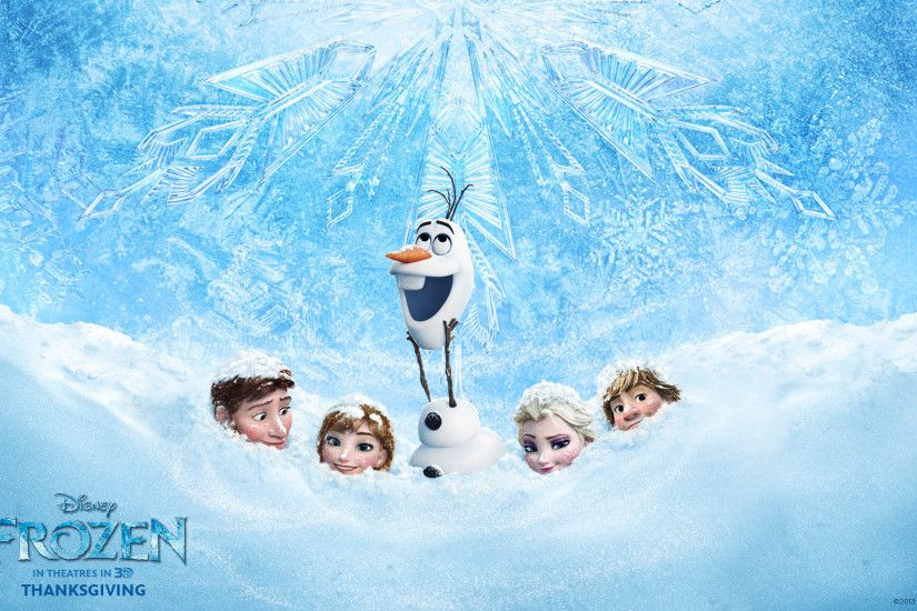 The Disney Movie Frozen Retina Wallpaper