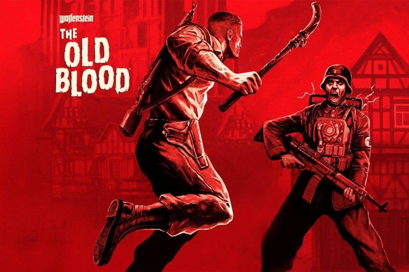 video Games, Wolfenstein: The Old Blood, Wolfenstein, Red, Nazi, Soldier  Wallpapers HD / Desktop and Mobile Backgrounds