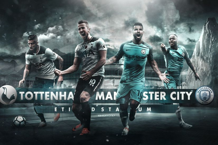 ... Manchester City - Tottenham Matchday Wallpaper by HassanGFX7