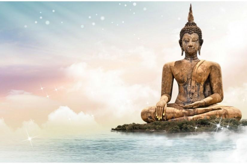 LORD BUDDHA STATUE HD WALLPAPER