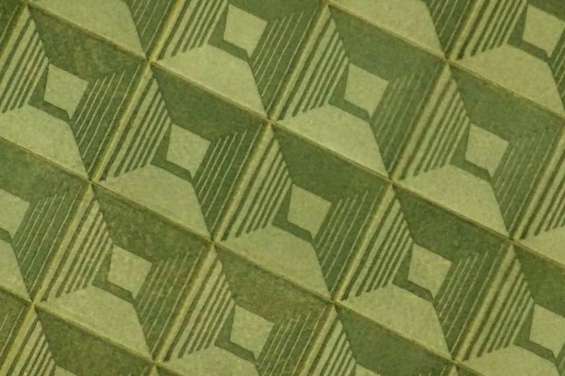 Olive Green Art Deco Background