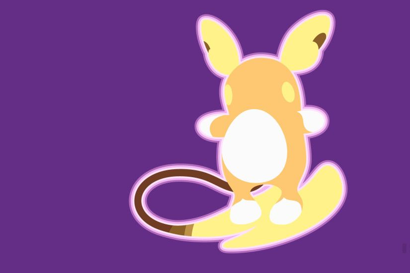 Computerspiele - Pokémon Sun and Moon Raichu (Pokémon) Pokémon Alola Raichu  Wallpaper
