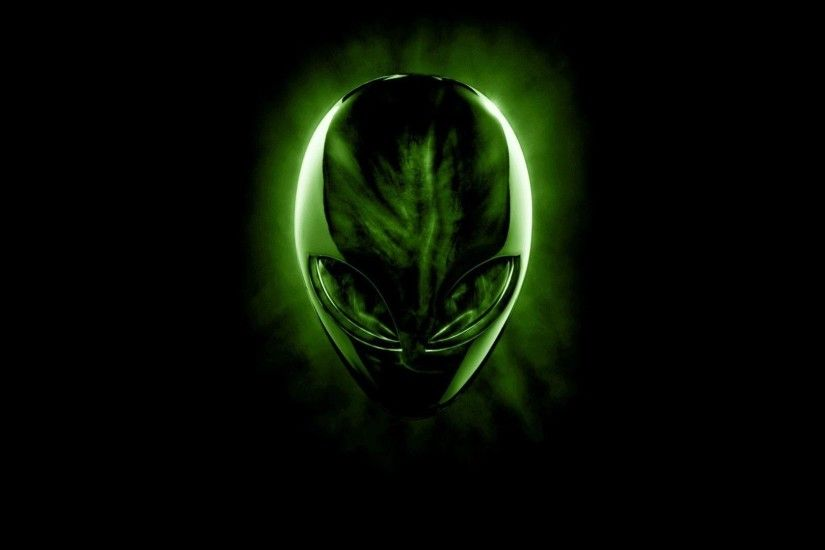 Green Alienware Background Wallpaper HD - dlwallhd.