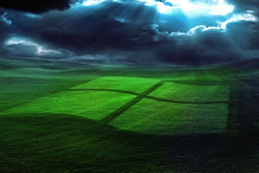 Windows, Field, Grass, operating system 4K Ultra HD HD Background .