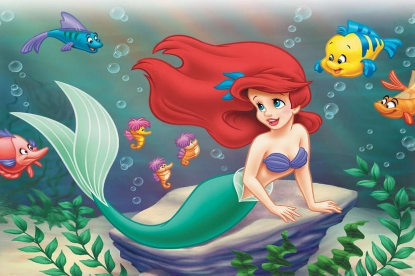 The Little Mermaid Wallpaper 791616