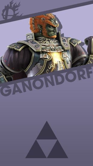Phone Wallpaper by MrThatKidAlex24 Ganondorf Smash Bros. Phone Wallpaper by  MrThatKidAlex24