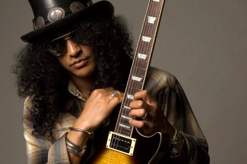 Slash Guitar Glasses Stairs Tattoo Desktop Background Hd Picture