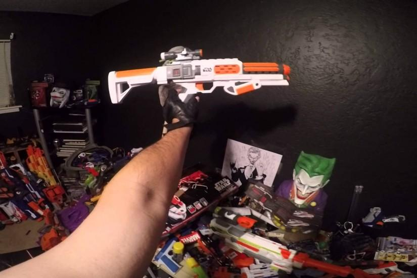 Review Nerf Star Wars First Order StormTrooper Deluxe Blaster