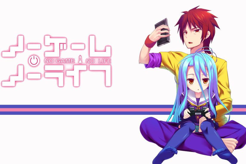 Sora, Shiro | No Game No Life | no game no life! | Pinterest | Gaming,  Anime and Manga