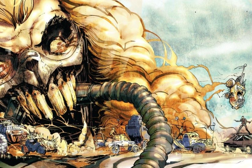 1920x1080 Wallpaper mad max, mad max fury road, comics, art