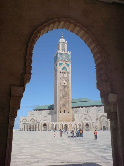 ... Mosque in Casablanca Morocco picture, Beautiful Hassan II Mosque in  Casablanca Morocco photo, Beautiful Hassan II Mosque in Casablanca Morocco  wallpaper