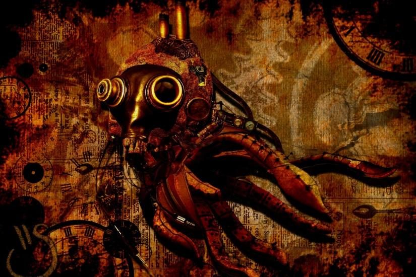 steampunk background 2000x1454 for phones