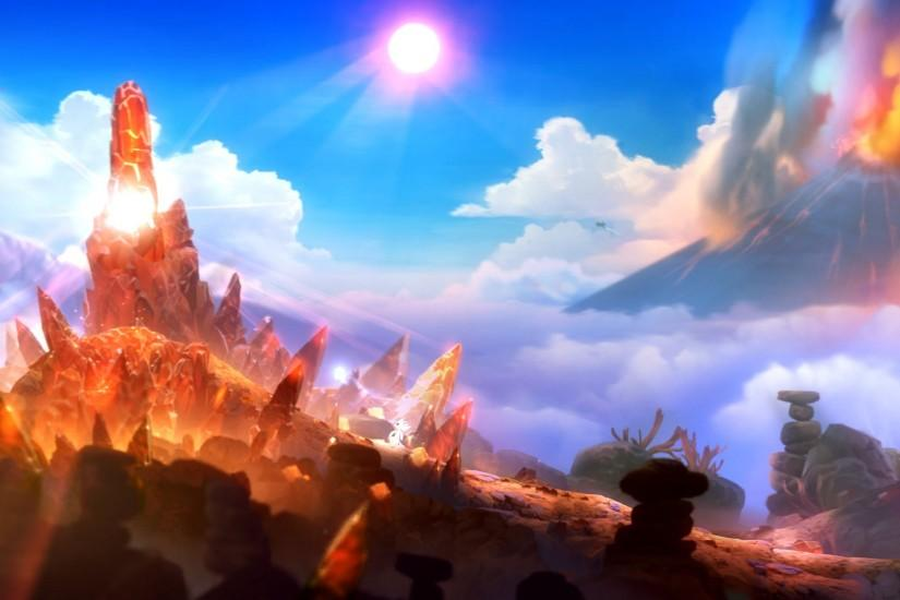 widescreen ori and the blind forest wallpaper 1920x1080 iphone