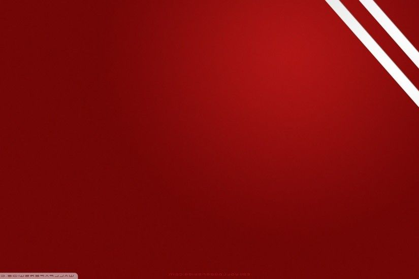 ... Red rings over curves wallpaper background ...