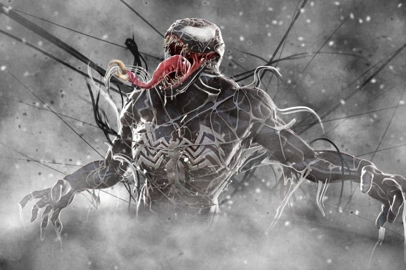 artwork, Venom, Marvel Comics Wallpapers HD / Desktop and Mobile Backgrounds