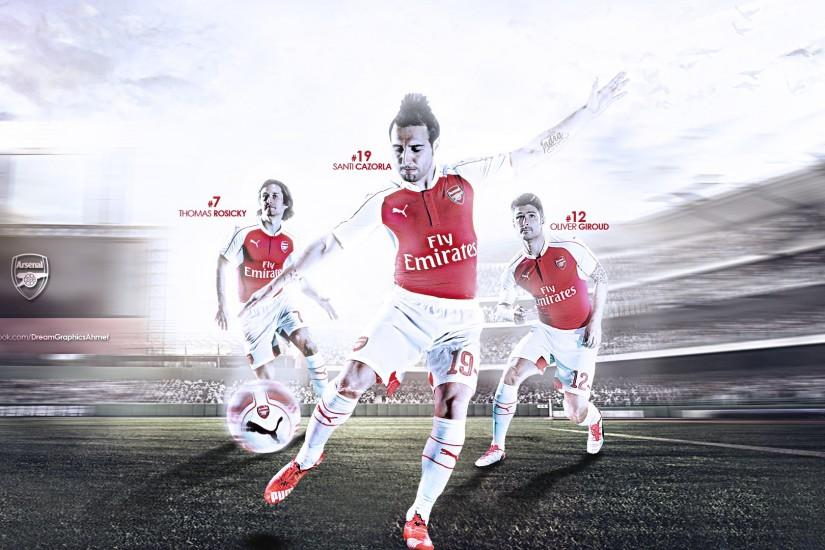 Arsenal Wallpaper 2015-2016 by dreamgraphicss on DeviantArt
