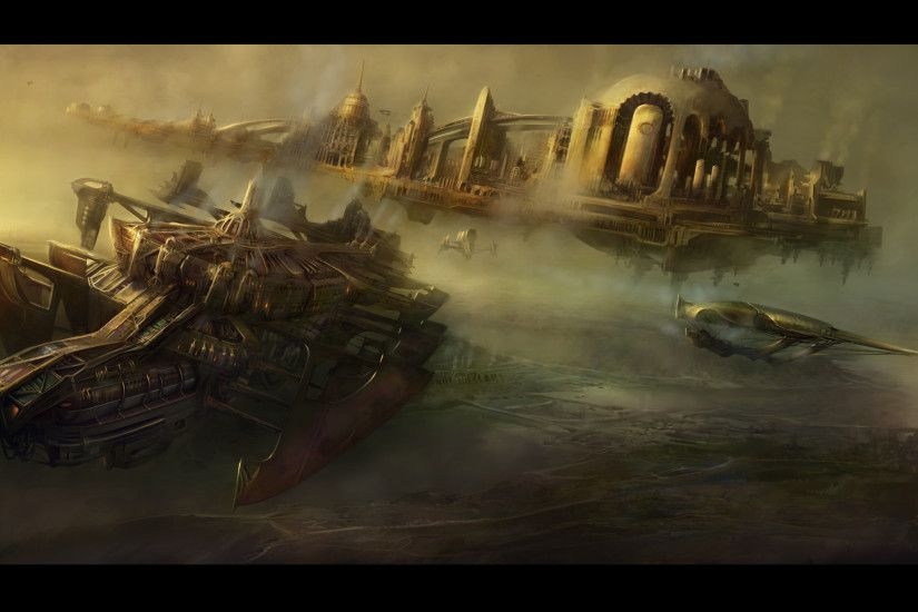 HD Wallpaper | Background ID:236906. 1960x1199 Sci Fi Steampunk