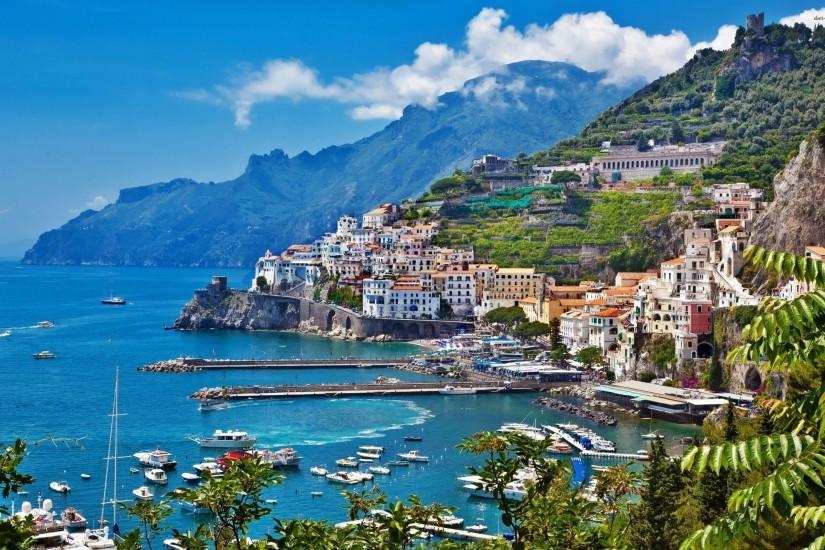 Amalfi Coast Italy Wallpaper